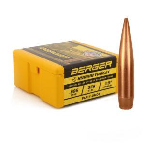 7mm 184gr F-Open Hybrid Target